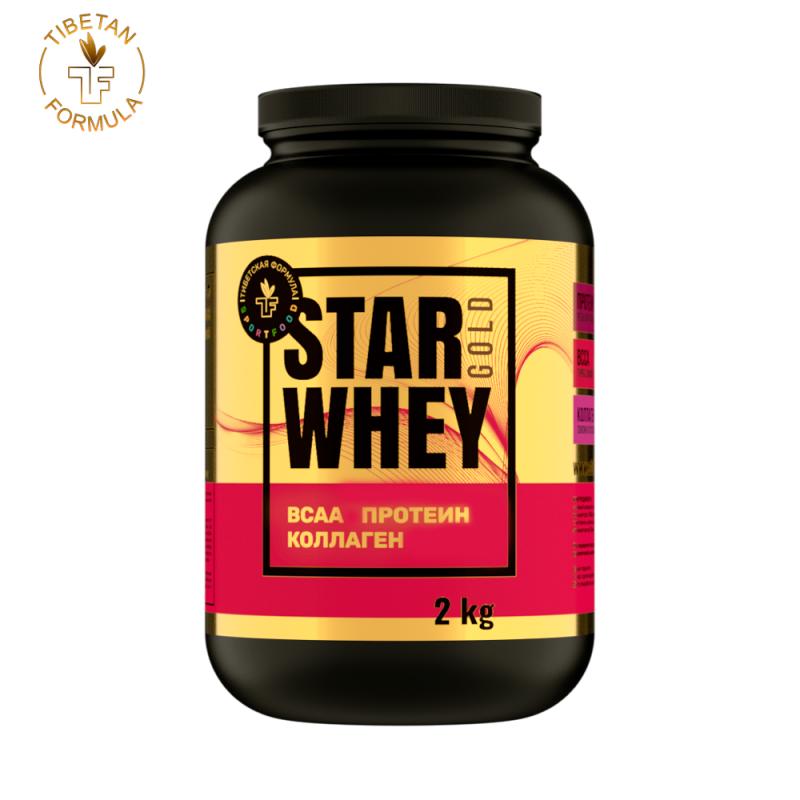 """Спортивное питание """"STAR WHEY gold"""" - Тибетская Формула"""