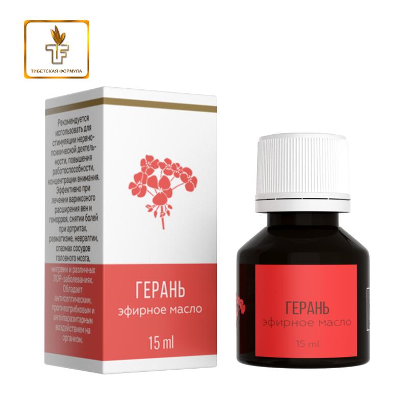 Эфирное масло герани - Тибетская Формула
